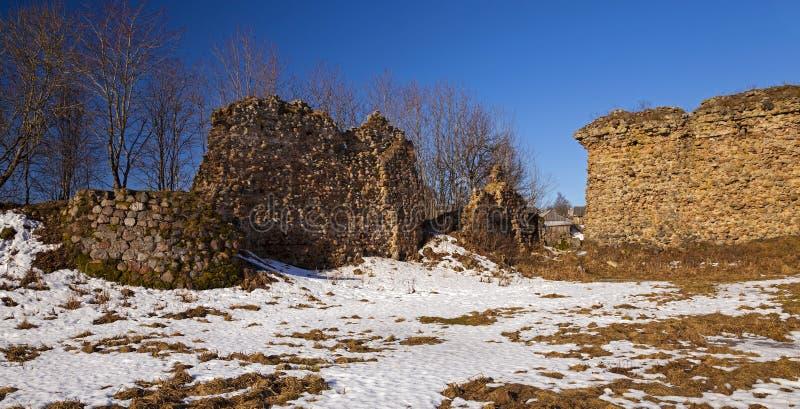 Forteczne ruiny obrazy stock