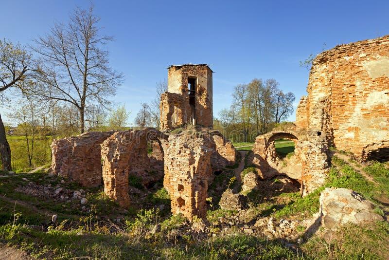 Forteczne ruiny fotografia royalty free
