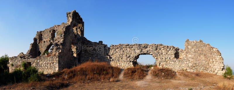 forteczne ruiny mangup zdjęcia stock