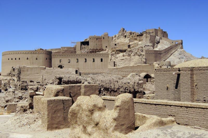 Forteczny Arg-e Bam Iran lato zdjęcia stock