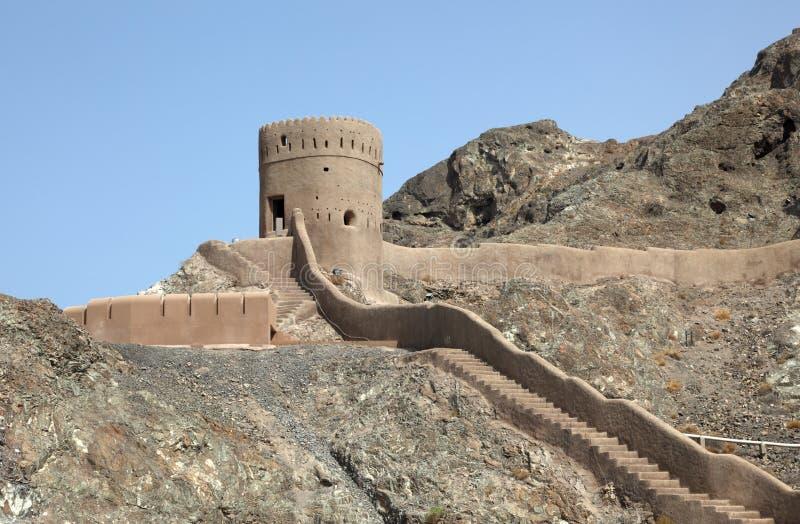 forteczny muszkatołowy stary Oman fotografia stock