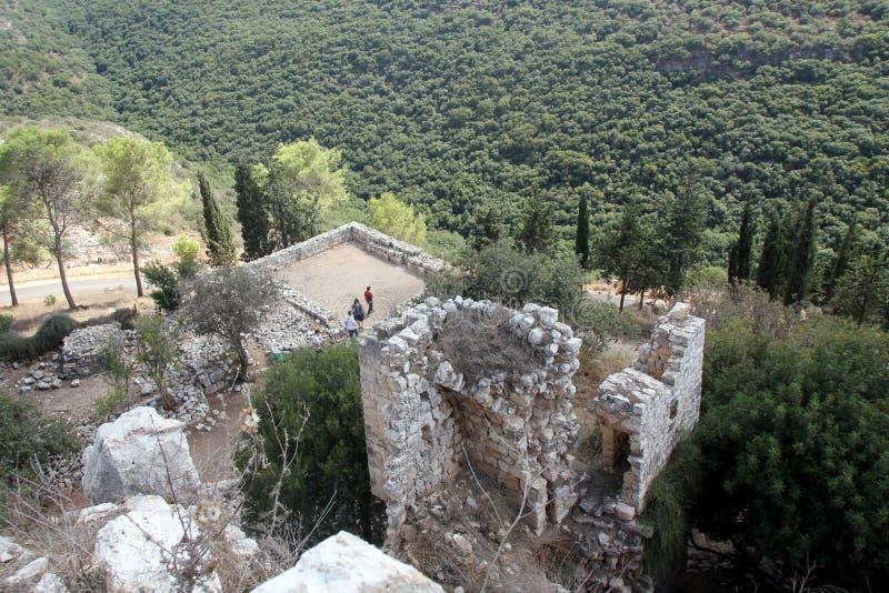 Forteczny Yehiam fotografia stock