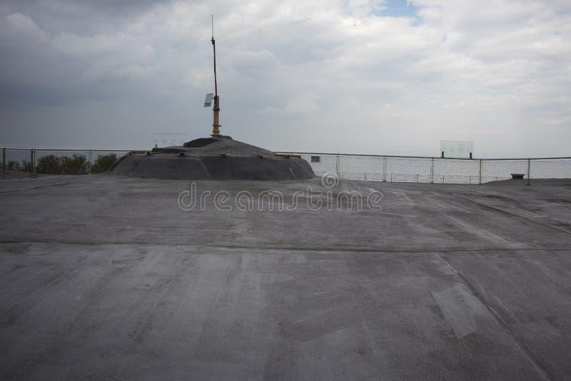 Forteiland Pampus ή νησί Pampus οχυρών, τεχνητό νησί στο IJmeer, επαρχία της Βορράς-Ολλανδίας, Κάτω Χώρες στοκ εικόνες
