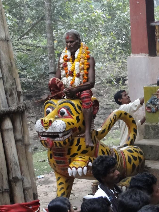 Fortell hindú de los sacerdotes del shaman el futuro imagen de archivo