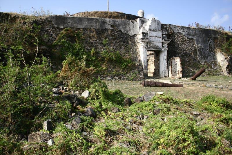 forten kriger arkivfoton