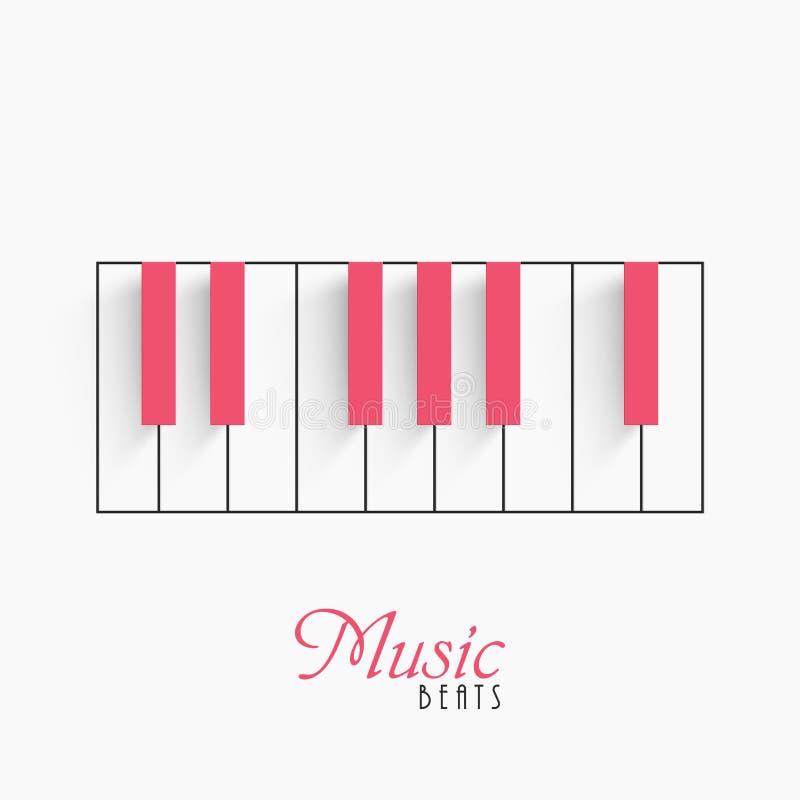Download Fortepianowa Klawiatura Dla Muzycznego Pojęcia Ilustracji - Ilustracja złożonej z wyposażenie, artiste: 53777779
