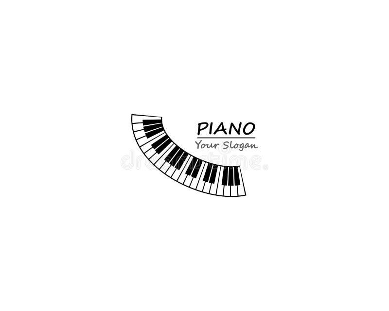 Fortepianowego grill ikony klawiaturowego szablonu ilustracyjny projekt ilustracji