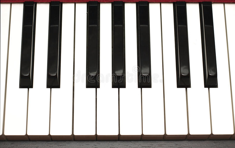 Fortepianowej klawiatury zbliżenie obrazy stock