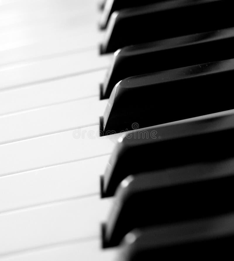 Fortepianowi klucze zdjęcia royalty free