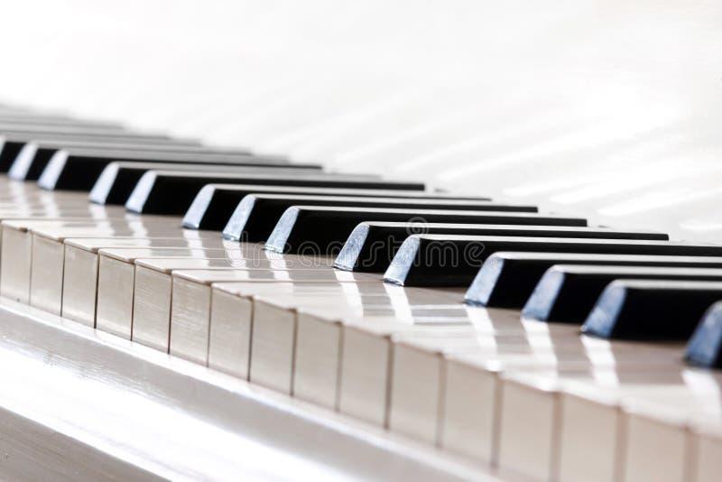 Fortepianowi klucze obraz royalty free