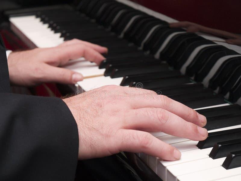 Fortepianowy gracz obrazy stock