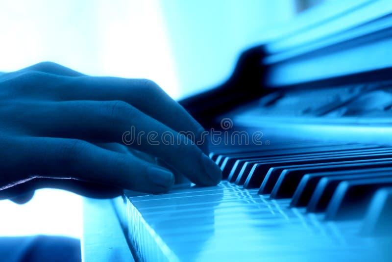 fortepianowy gracz zdjęcie royalty free