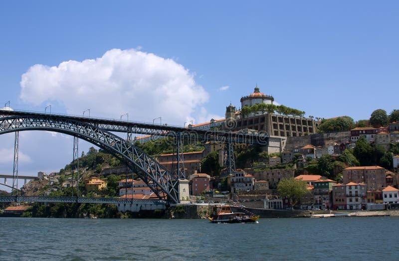 Forteresse à Porto images libres de droits