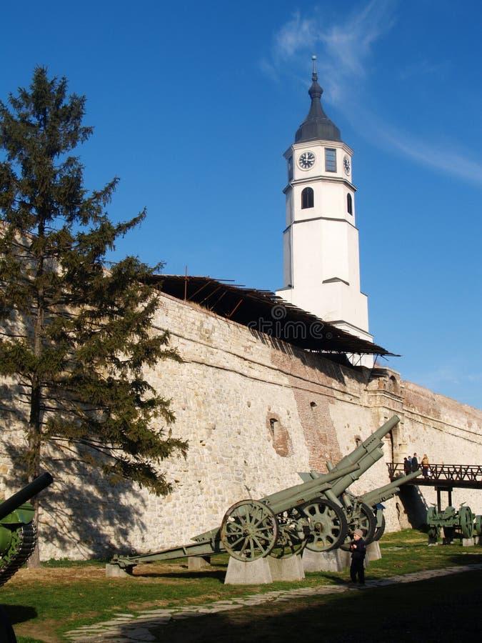 Forteresse Belgrade de Kalemegdan photos stock