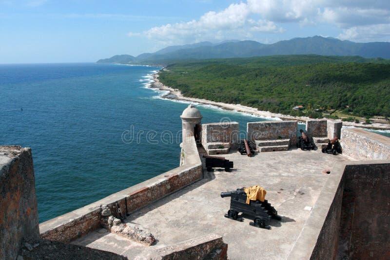 forteresse cubaine photos libres de droits