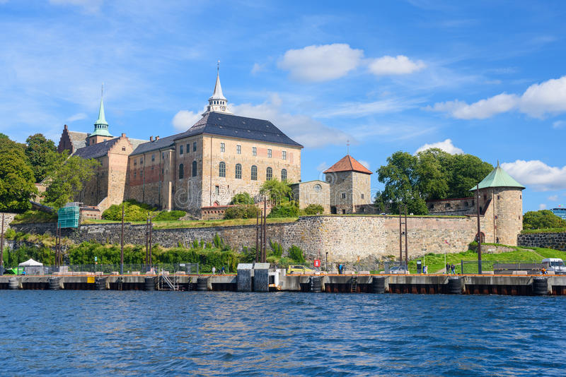 Download Forteresse D'Akershus à Oslo Photo stock - Image du scandinave, destinations: 87705826