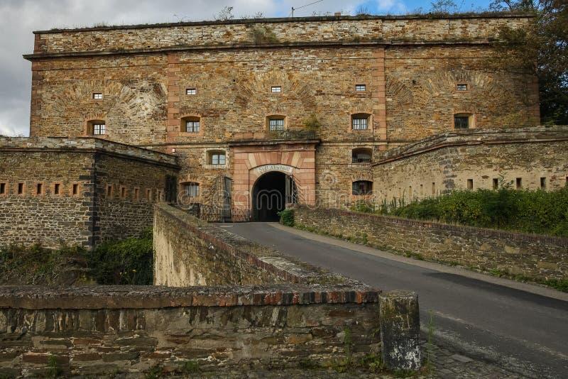 Forteresse d'Ehrenbreitstein, Koblenz, Allemagne images stock