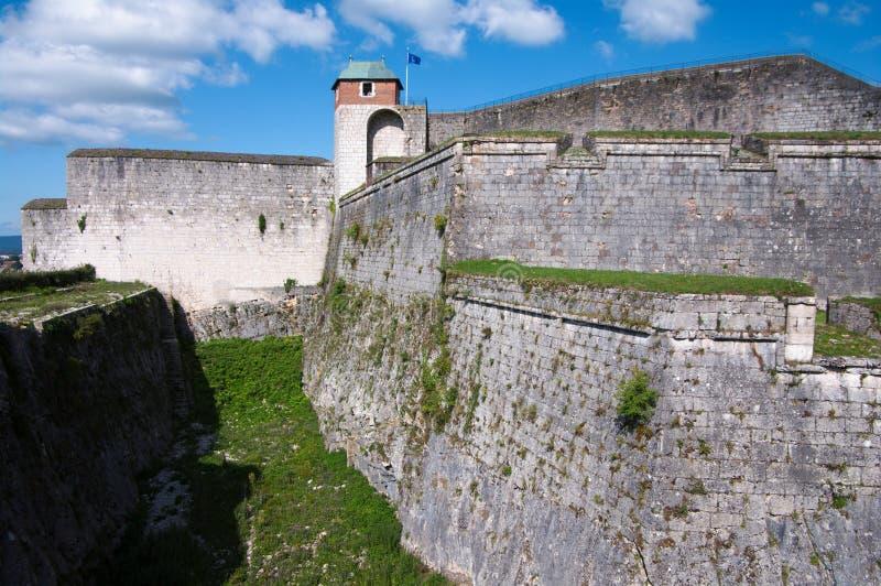 Forteresse de Besançon photographie stock
