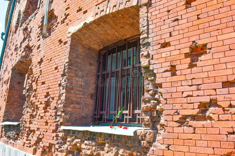 Forteresse de Brest, Brest, Belarus photographie stock libre de droits