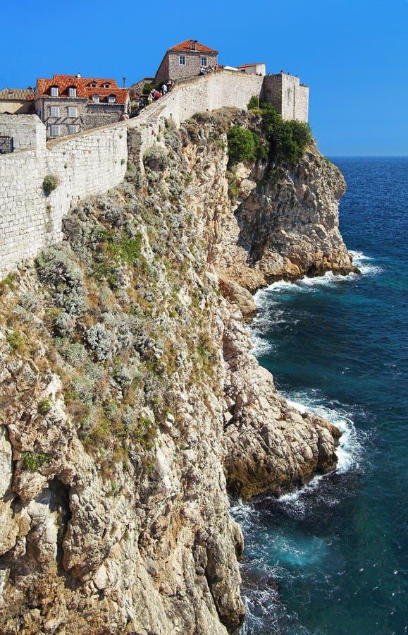Forteresse de Dubrovnik, Croatie images libres de droits
