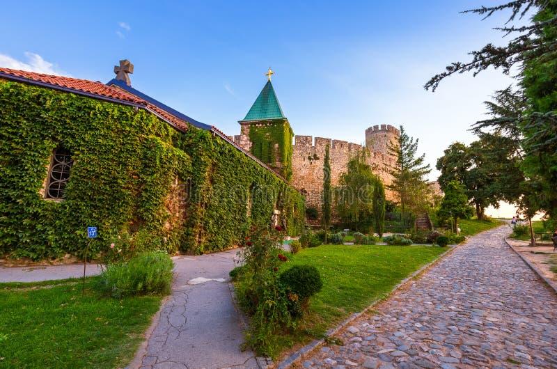 Forteresse de Kalemegdan Beograd - Serbie photos stock