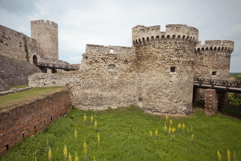 Forteresse de Kalemegdan - la porte du despote, Belgrade, Serbie photographie stock