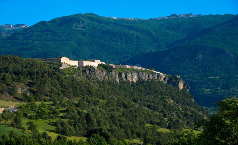 Forteresse de Mont Dauphin en Francia fotos de archivo libres de regalías