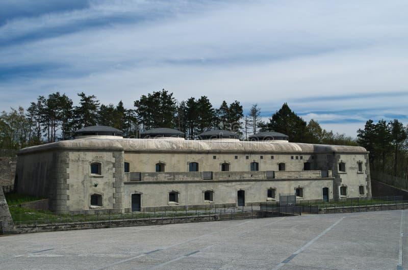 Forteresse de montagne de Bernadia, Tarcento, photos libres de droits