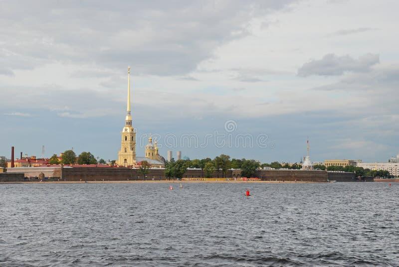 Forteresse de Peter et de Paul, St Petersburg, Russie images libres de droits