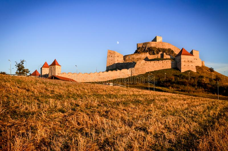 Forteresse de Rupea, la Transylvanie, Roumanie images libres de droits