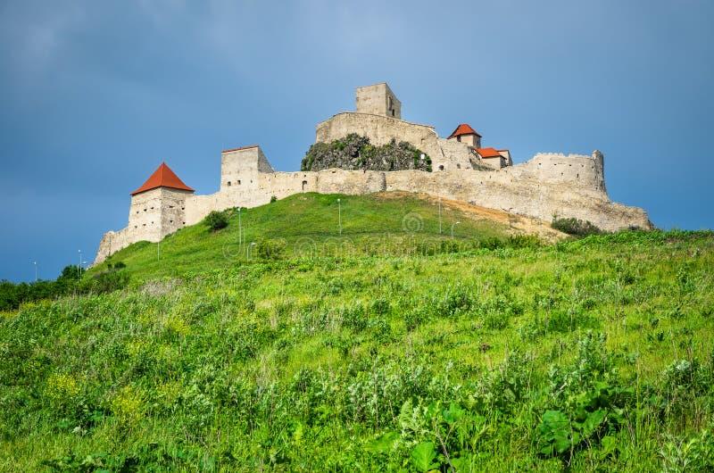 Forteresse de Rupea, la Transylvanie, Roumanie image libre de droits