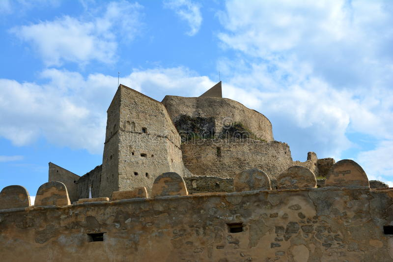 Forteresse de Rupea (reps) photo stock