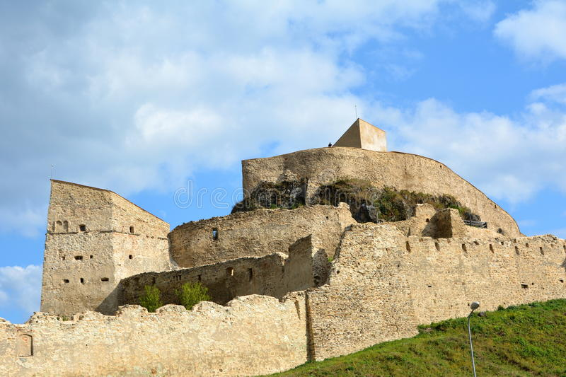 Forteresse de Rupea (reps) photos stock
