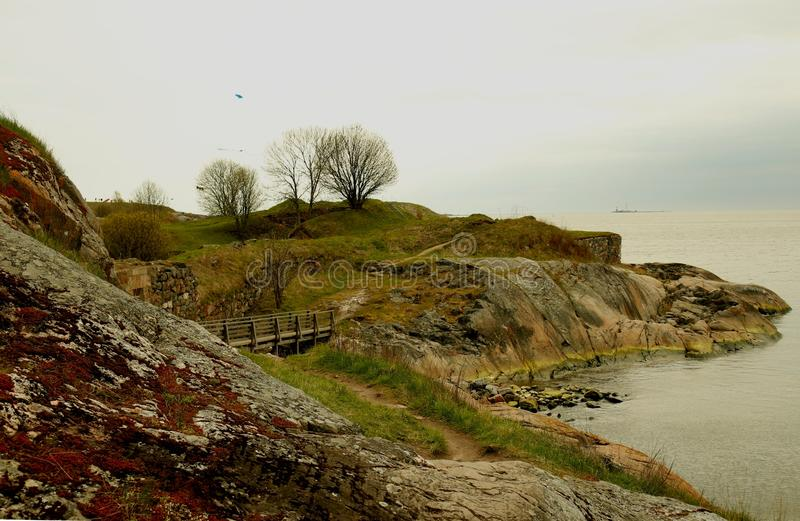 Forteresse de Suomenlinna photos stock