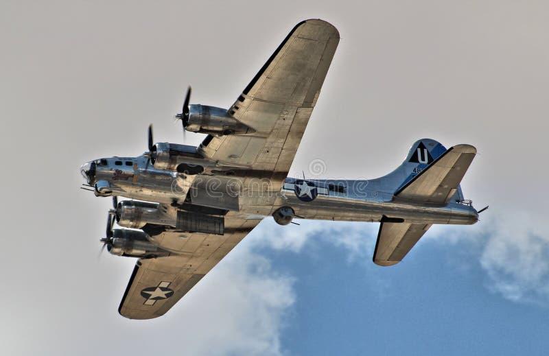 Forteresse du vol B-17 photo libre de droits