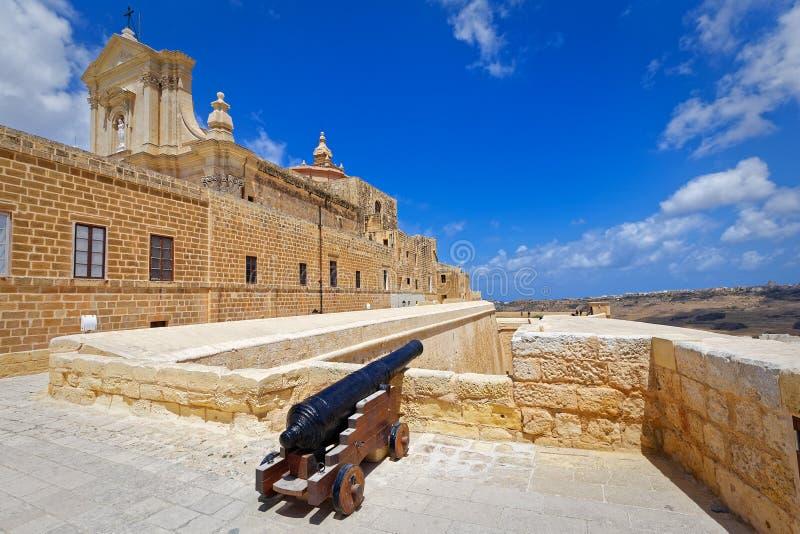 Download Forteresse Gozo, Victoria De Canon Image stock - Image du architecture, historique: 77157621