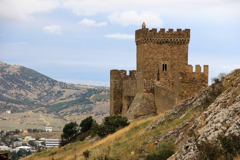 Forteresse médiévale en Crimée photographie stock