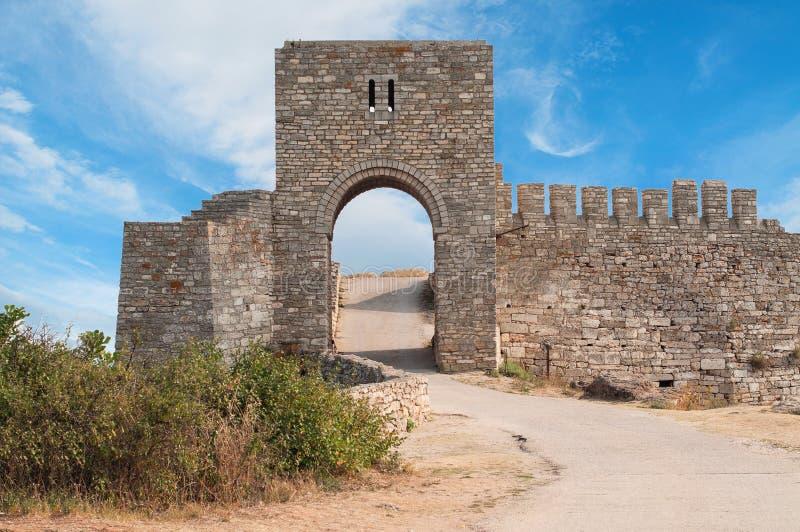 Forteresse médiévale de Kaliakra. La Bulgarie photos stock