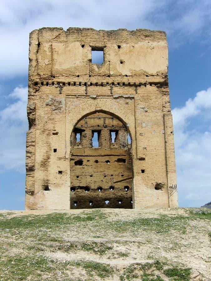 Forteresse marocaine en dehors de Fez photo libre de droits