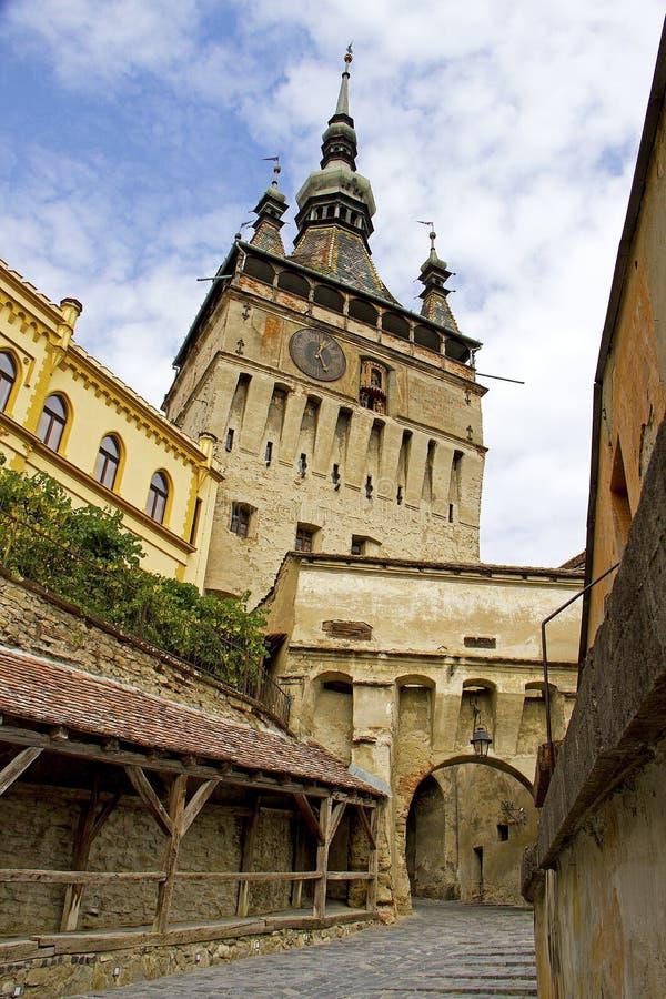 Forteresse Transilvania, Sighisoara стоковая фотография