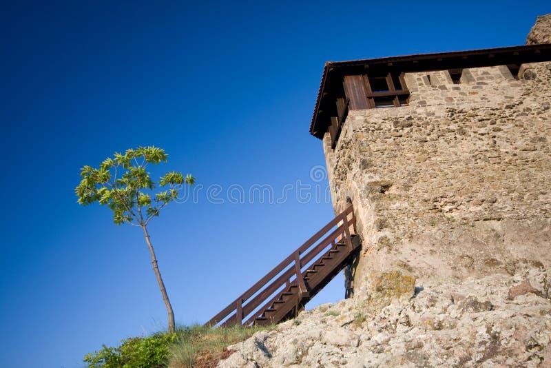 Fortess em Visegrad fotografia de stock royalty free