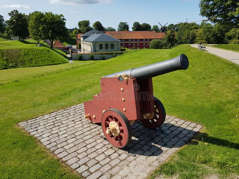 Fortezza antica danese Kastellet fotografie stock