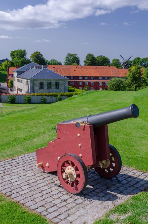 Fortezza antica danese Kastellet immagine stock libera da diritti