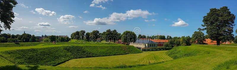 Fortezza antica danese Kastellet fotografia stock libera da diritti