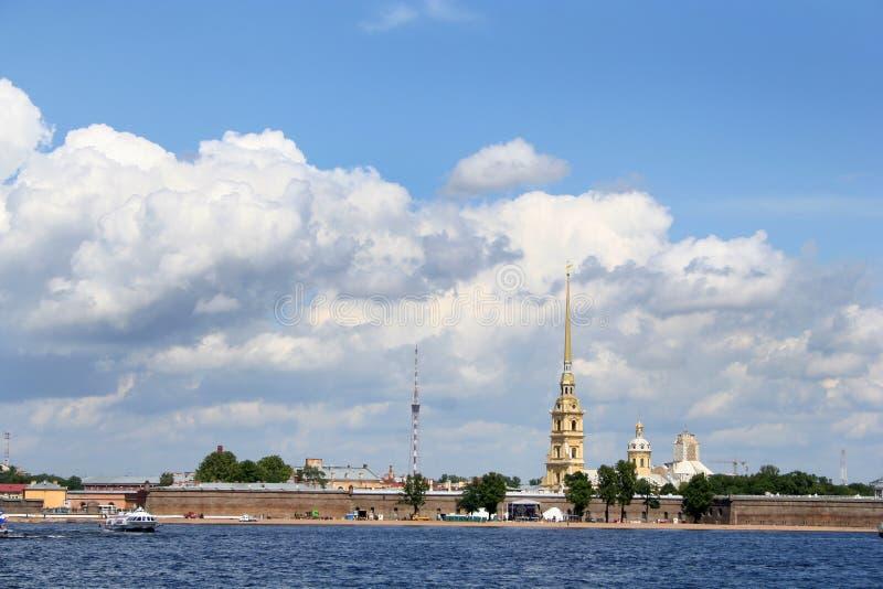 Fortezza del Paul Petropavlovskaya immagine stock