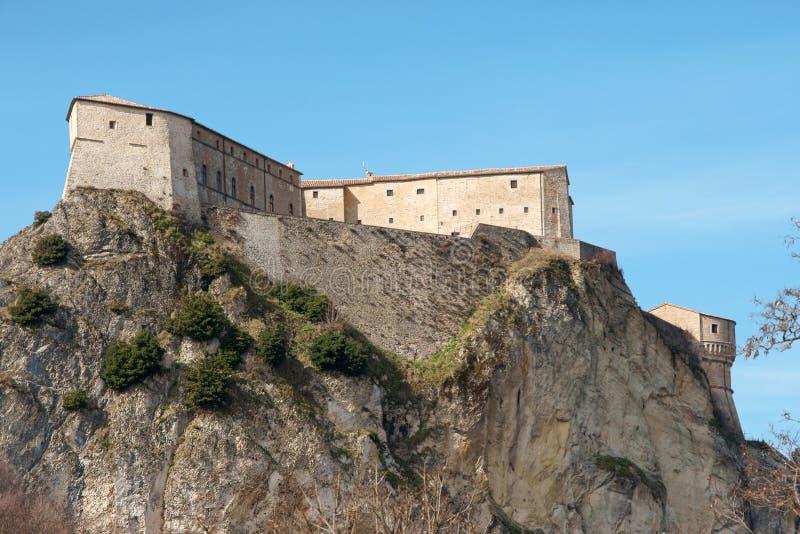 Fortezza del San Leo fotografie stock libere da diritti