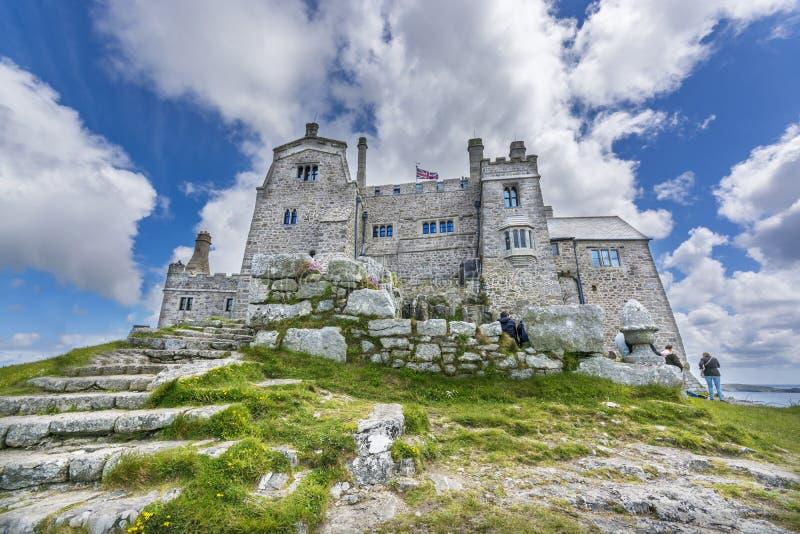 Fortezza dell'isola di St Michael del supporto immagine stock libera da diritti