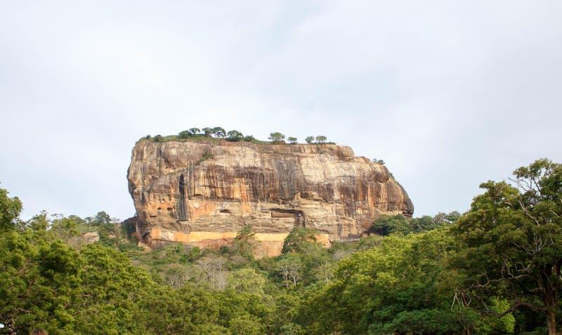 Fortezza della roccia di Sigiriya, Sri Lanka fotografie stock