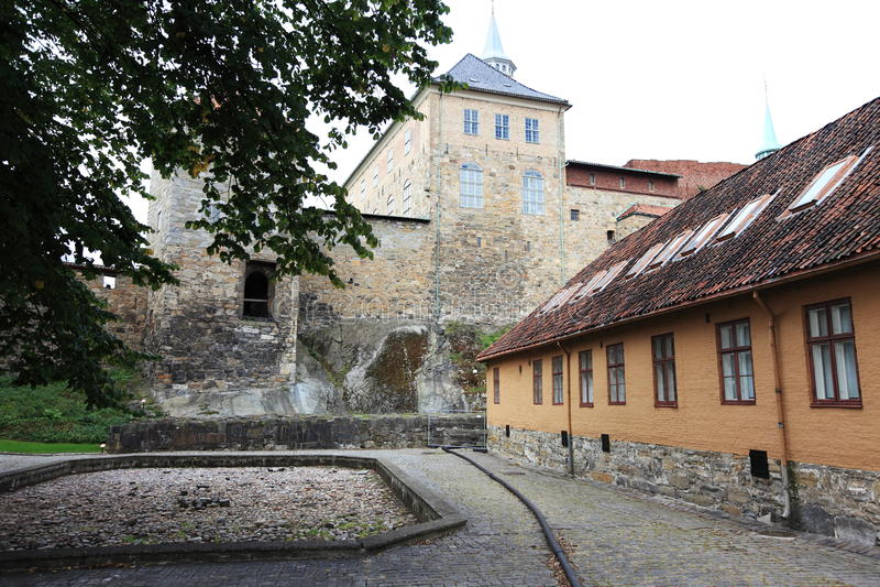 Fortezza di Akershus fotografie stock