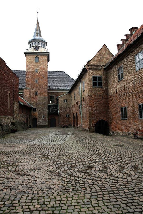 Fortezza di Akershus a Oslo immagini stock libere da diritti